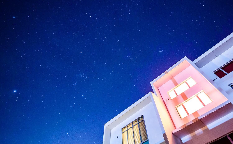 駒ヶ根自動車学校から見える星空