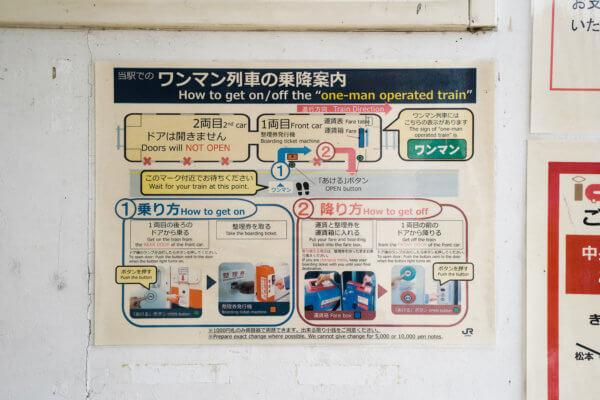 飯田線乗り方案内