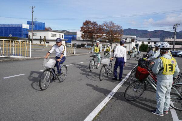 自転車講習(実技)